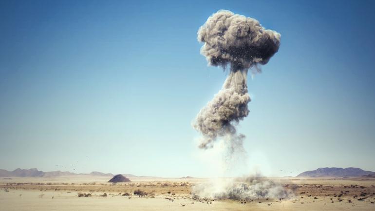 FumeFX explosion