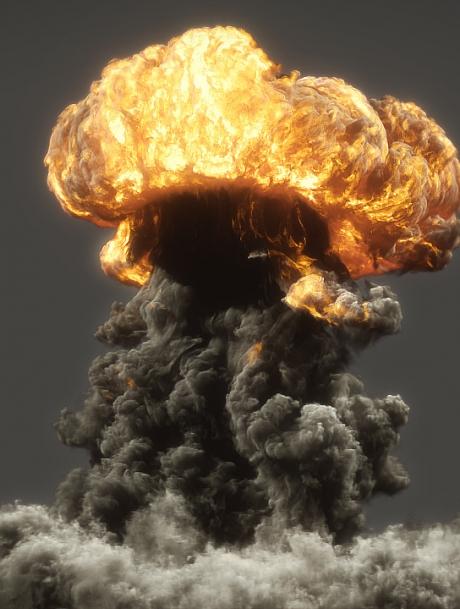 FumeFX nuke explosion